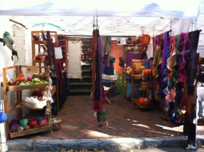 Scarves & Shawls at the Cape Cod Show